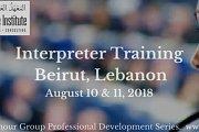 Beirut Interpreter Training