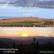 Weekend Getaway in Kawkaba, Rashaya el Foukhar & Saghbine