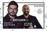 Nassif Zeytoun & Hicham Haddad at Kartaba Festival