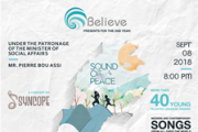 Believe presents for the 2nd year : Sound of Peace
