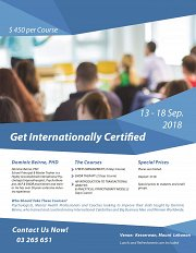 Get Internationally  Certified - For Psychologists/Mental Health Professionals & Coaches