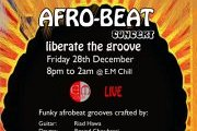 Afro Beat Concert- Liberate the groove