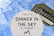Dinner In The Sky - Faraya with Chateau d'Eau