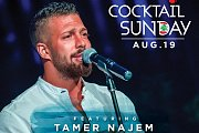 Tamer Najem at Riviera Beach Lounge Pool Party