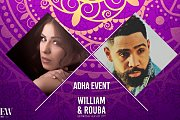 Adha Event at The View Rooftop in Burj on Bay | William & Rouba live in concert