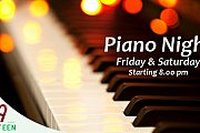 Piano Nights Every Friday & Saturday