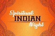 Indian Night (Yoga, Meditation, Kirtan, Dinner)