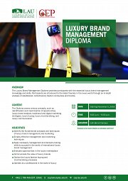 Luxury Brand Management Diploma