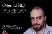 Oriental Night with Jad Zeidan