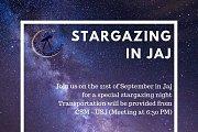 Stargazing in Jaj
