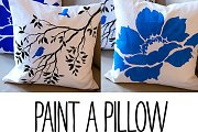 Paint a Pillow