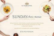 Sunday Lunch Chez Nous