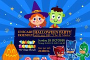 Unscary Friendly Halloween Party