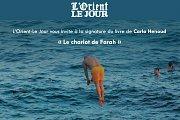 Signature du livre de Carla Henoud « Le chariot de Farah »