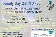 Family Day out @ AREC (AUB Farm)