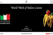 World Week of Italian Cuisine 2018