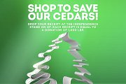 Shop to Save Our Cedars!