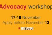 Advocacy Workshop in Beirut