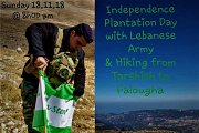 Independence Plantation Campaign & Hiking from Tarshish to Falougha with GREEN STEP