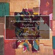 Fenêtres sur l'espoir | Solo Exhibition by Afaf Sader