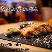 Smokey Night at Hemingway's Lounge Every Thursday