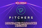 Mondays Karaoke Nights at Pitchers
