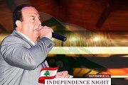 Independence night at Bou Melhem Restaurant with Abdo Yaghi