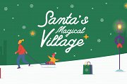 Santa's Magical Village: Christmas Market