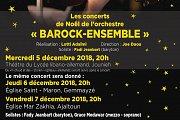"""Barock-Ensemble: """"les concerts de Noël"""" at Lycée libano-allemand"""
