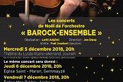 """Barock-Ensemble: """"Les concerts de Noël"""" at Église Saint Maron"""