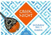 Greek Night at Em's Cuisine