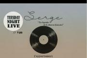"""TUESDAY NIGHT LIVE // Serge chante """"Les Légendes De La Chanson Française """""""