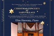 Piano and Violin Recital part of Christmas Concerts at Saifi village