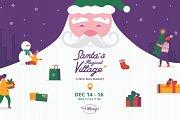 Santa's Magical Village: Christmas Market