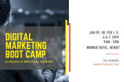 40 Hours Digital Marketing Boot Camp by Intoact