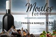 Sundays' Moules et Frites
