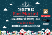 Christmas Roof Market at BHV Jnah