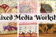 Mixed Media Workshop at YWCA
