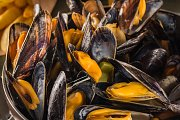 MOULES ET FRITES AT GORDON'S CAFE