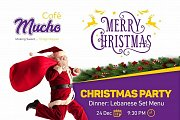Christmas Party at Mucho Cafe