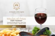 Moules et Frites at Cafe Tournesol