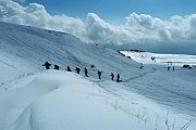 Snowshoeing faqra to arz sannine and Wine Tasting Bzomar with Golden feetn