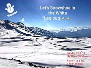 Let's Snowshoe in the White Laqlouq with GREEN STEPS