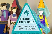 Folkloric Paper Dolls at Alwan Salma