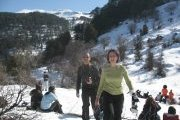 Ehden Snowshoeing with Vamos Todos