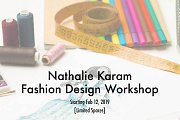 Nathalie Karam Fashion Design Workshop