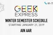 Geek Express Winter Semester - Ain Aar