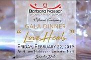 """Barbara Nassar 4th Fundraising Gala Dinner """"Love Heals"""""""