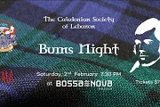 Burns Night 2019 at Bossa Nova Hotel