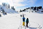 Ouzur Ehmej Snowshoeing With Wild Adventures